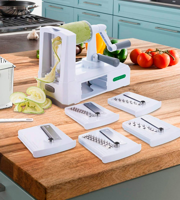 Review of Spiralizer Ultimate 7 Strongest-and-Heaviest Duty Vegetable Slicer