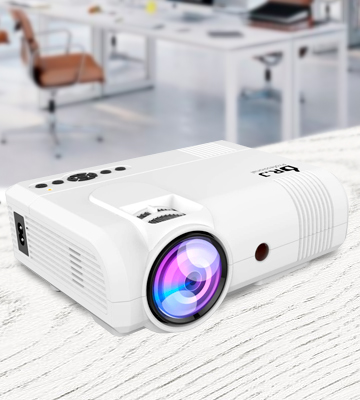 Review of DR. J Professional L8 VGA LCD Projector