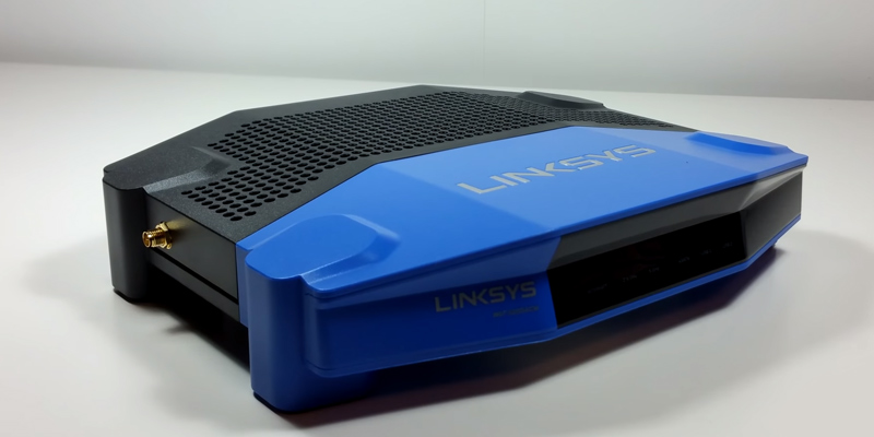 Linksys WRT3200ACM Dual-Band Gigabit Smart Wireless Router with MU-MIMO in the use