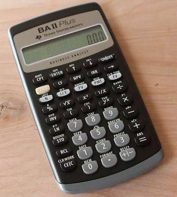 Review of Texas Instruments IIBAPL/TBL/1L1 Financial Calculator