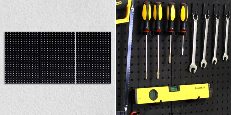 Review of WallPeg AM 202 Plastic Pegboard Panels