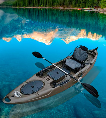 Review of Brooklyn Kayak Company BKC RA220 11.6 Single Fishing Kayak