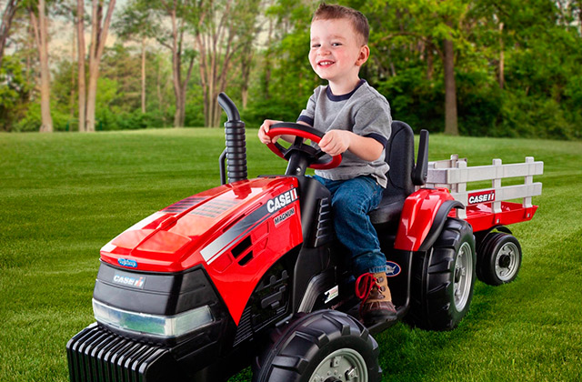 Best Ride On Tractors for Young Adventurers