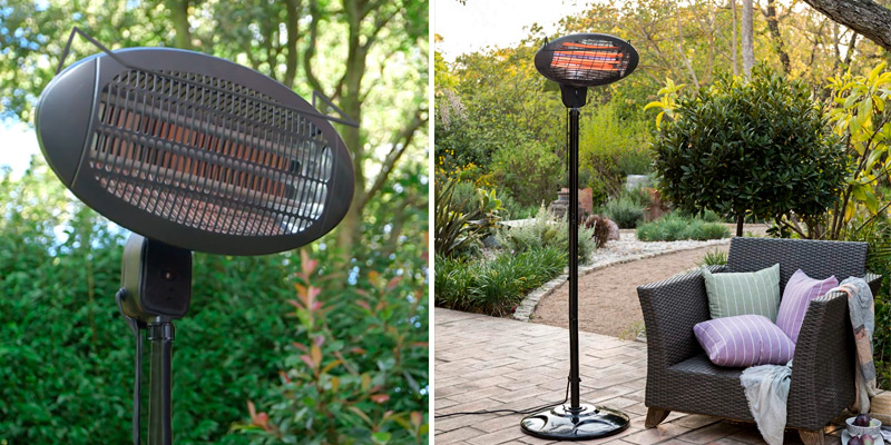 Review of Trustech Patio Heater 1500W Outdoor Heater