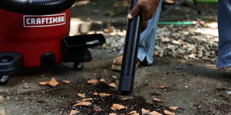 Craftsman XSP Wet / Dry Vacuum in the use