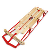 Flexible Flyer Steel & Wood Steering Snow Slider