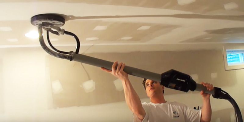PORTER-CABLE Drywall Sander in the use