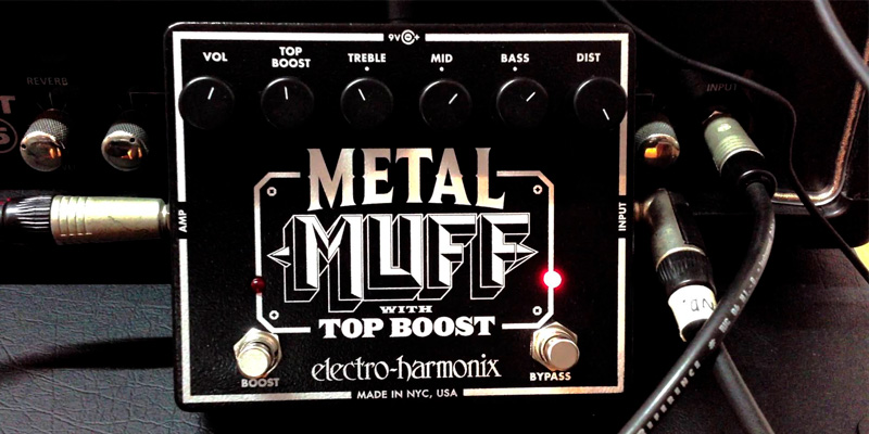 Review of Electro-Harmonix Metal Muff Distortion