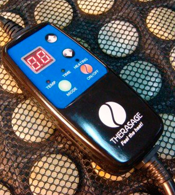 Review of Therasage HP0001 Far Infrared Heated Healing Pad