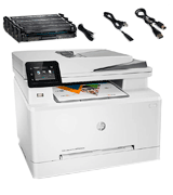HP LaserJet Pro M283fdw Wireless All-in-One Color Laser Printer
