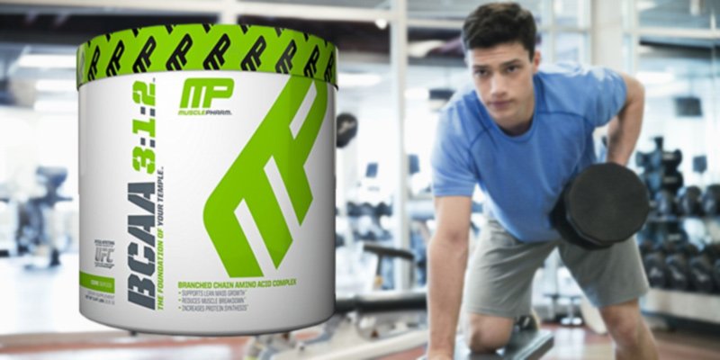 MusclePharm PH163x Post Workout Recovery Drink in the use