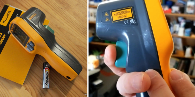 Fluke 59 Max Infrared Thermometer in the use
