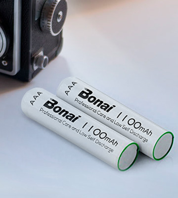 Review of BONAI BN3A170301A016 1100mAh AAA Rechargeable Batteries