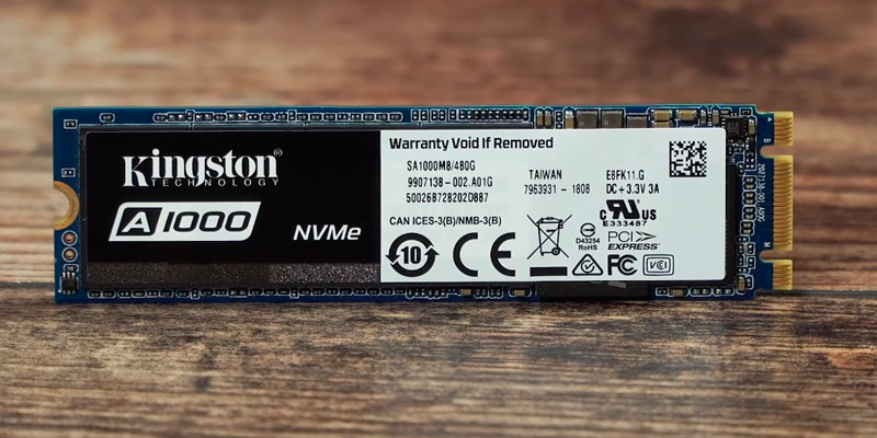 Review of Kingston A1000 NVMe PCIe M.2 2280 Internal SSD