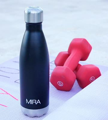 Review of Mira Insulated Double Wall Vacuum Water Bottle