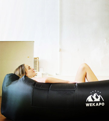 Review of WEKAPO Portable Inflatable Lounger Air Sofa