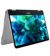 ASUS VivoBook Flip 2-in-1 Laptop, 14 HD Touchscreen, Intel Celeron 2.6GHz Processor, 4GB RAM, 64GB EMMC