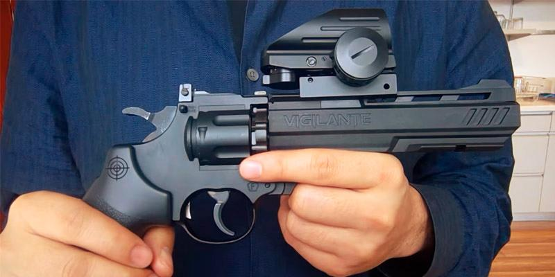 Dagger Defense DDHB Reflex Sight Optic & Substitute for Holographic Red Dot Sights in the use