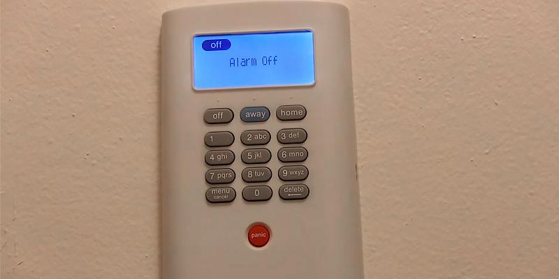 Simplisafe2 Wireless Home Security System in the use