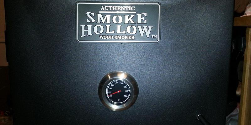 Smoke Hollow 30162E Electric Smoker in the use