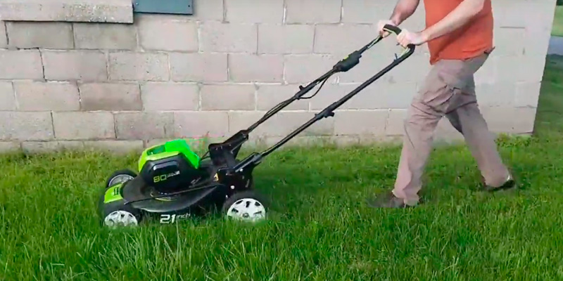 Review of GreenWorks PRO 21-Inch 80V Cordless Lawn Mower
