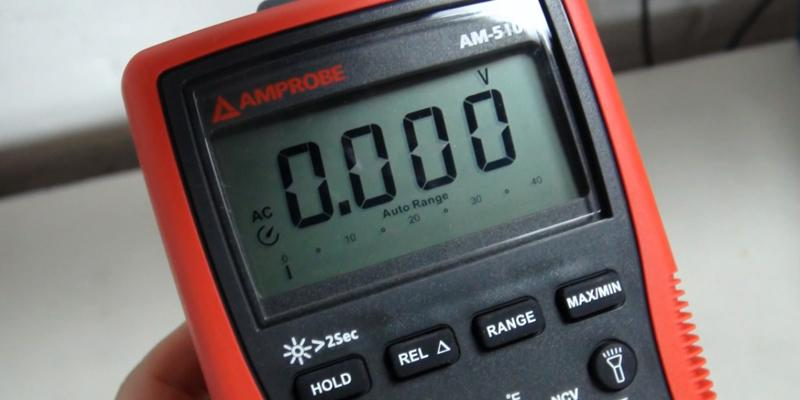 Review of Amprobe AM-510 With Non-Contact Voltage Detection