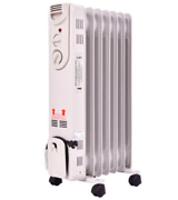 Tangkula 5-Fin Oil Filled Portable Radiator Heater