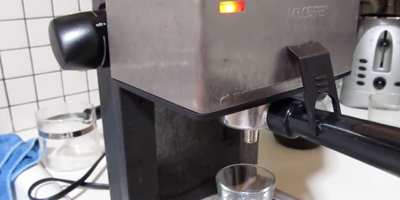Detailed review of Mr. Coffee ECM160 4-Cup Steam Espresso System with Milk Frother