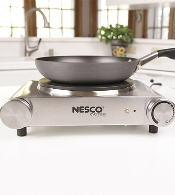 Review of Nesco SB-01 Stainless Steel Portable Electric Burner