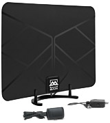 BAM 4330082172 Amplified Indoor TV Antenna
