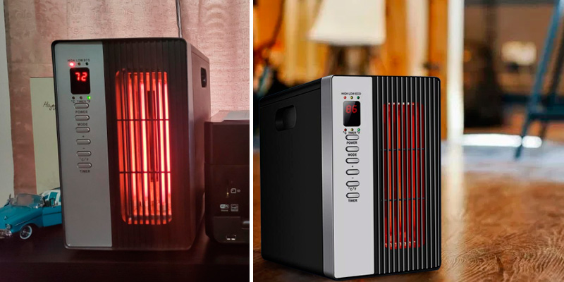 Air Choice Infrared Heater Heaters Indoor portable electric in the use