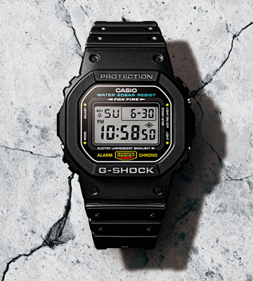 Review of Casio DW5600E-1V Shock-resistant Watch
