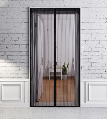 Review of TheFitLife Screen-Black-46x82 Magnetic Screen Door