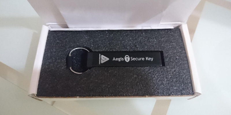 Detailed review of Apricorn Aegis Secure Key Encrypted Flash Drive
