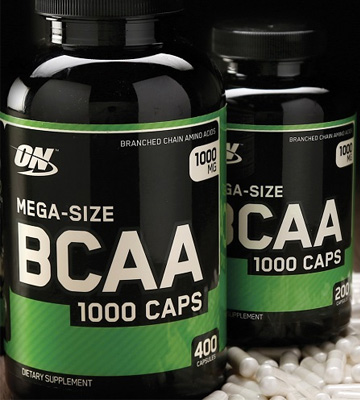 Review of Optimum Nutrition 1000mg, 400 Count Instantized BCAA Capsules