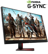 HP OMEN 27 27 QHD NVIDIA G-SYNC Gaming Monitor (165Hz, 1ms)