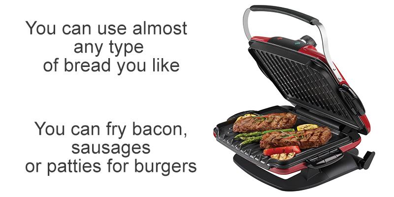 Review of George Foreman GRP4842MB Grill Sandwich Maker