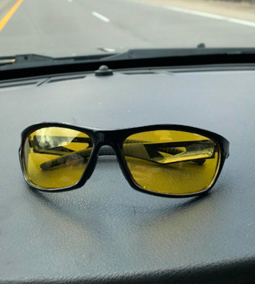 Review of Rivbos TR90 Polarized Night Driving Sunglasses