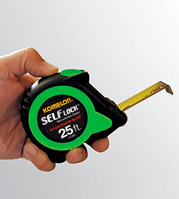 Review of Komelon SL2825 Self Lock Measure Tape, 25 ft