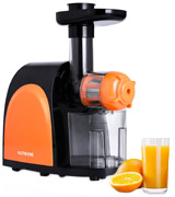Chefmos FU14ZZJNEW Masticating Juicer, Slow, Cold Press
