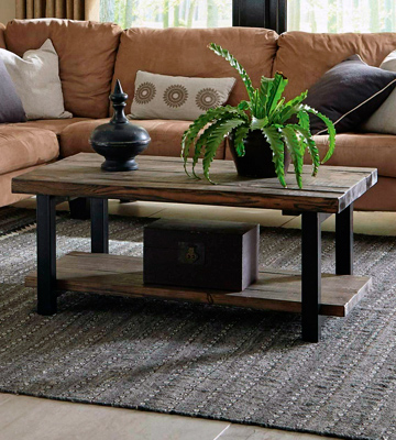 Review of Alaterre AMBA1120 Natural Coffee Table