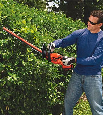 Review of BLACK + DECKER LHT2436 Cordless 24 40V Hedge Trimmer
