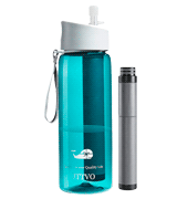 JTTVO BPA Free 4 Stage Filtered Water Bottle
