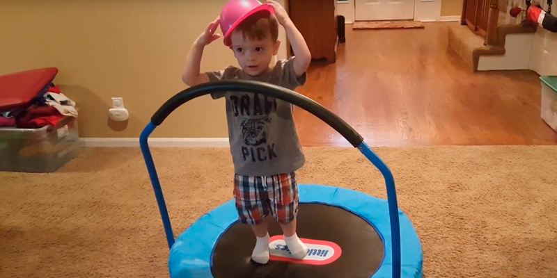 Detailed review of Little Tikes 3' Trampoline