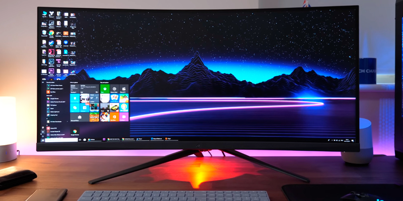 "Review of ASUS ROG Strix XG35VQ 35"" Curved Gaming Monitor"