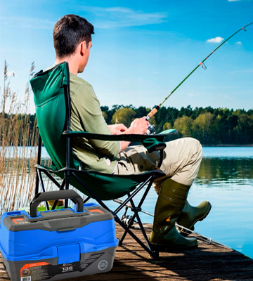 Review of SouthBend Ready2Fish Fishing Tackle Box Organizer