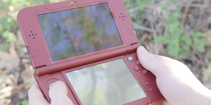 Detailed review of Nintendo 3DS XL Handheld Console