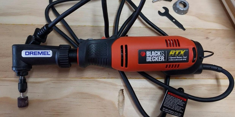 Black & Decker RTX-B Rotary Tool Kit in the use