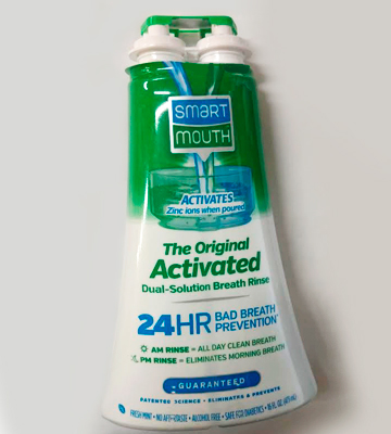 Review of SmartMouth ASM-007B Mouthwash, Fresh Mint