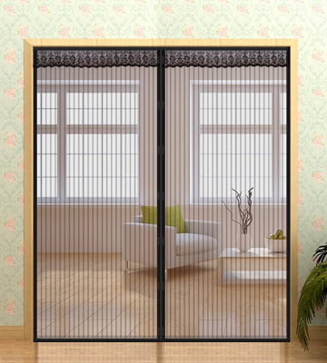 Review of Mkicesky QSMK10005 72x80, Magnetic Screen Door for French Doors